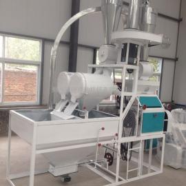小型面粉机 单机小麦磨粉机