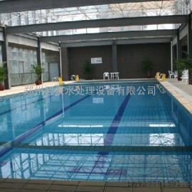 新型环保水体精滤机泳池热泵、恒温加热热源设备