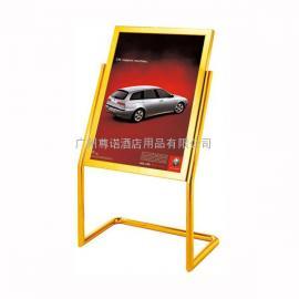 酒店餐饮门口不锈钢指示牌60x80广告水牌立牌告示牌
