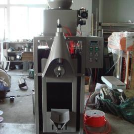 上海广志吹气式供料阀口包装机_气压式阀口包装机