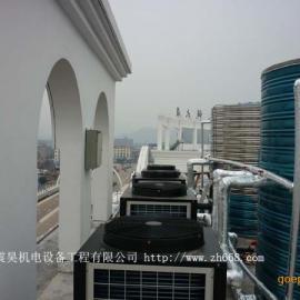 东莞宾馆用空气能热水器|广东中央热水改造专业公司
