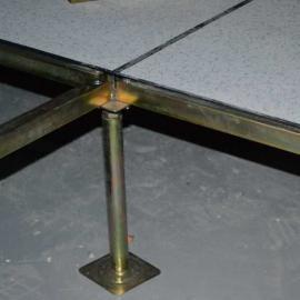 全钢架空防静电PVC胶板 计算机房 库房高导电性防静电地板