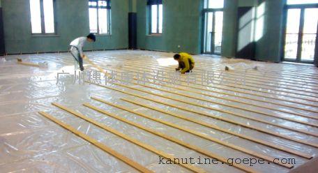 球场木地板铺装,体育运动地板,枫木球场地板