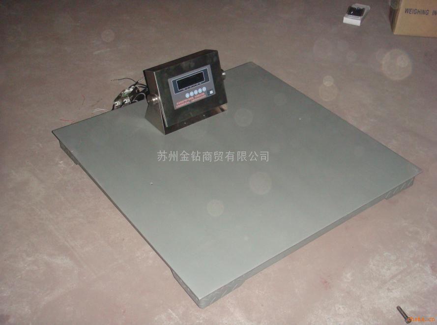 2吨防爆电子地磅/太仓防爆电子秤厂家