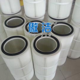 进口覆膜聚酯高精度除尘滤芯