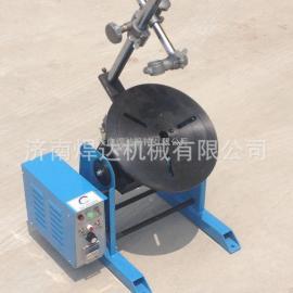 市场最低价环缝焊变位机蜗轮蜗杆结构变位机环缝焊转台焊接转盘