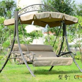 豪华型冬夏两用花园秋千椅