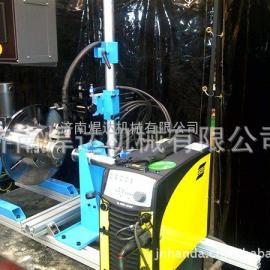 国内*好用的自动焊变位机!HD-100/300小型环缝焊接变位机