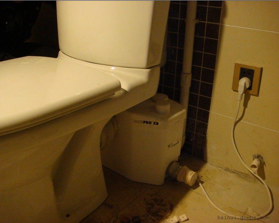 家用地下室卫生间污水提升设备 家用地下室厨房污水提升泵