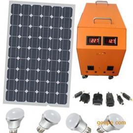 厂家直接设计生产销售订购配LED灯高效小型家用太阳能发电机