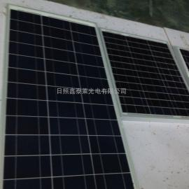 云南单晶硅双层玻璃100瓦太阳能电池板全新太阳能电池板