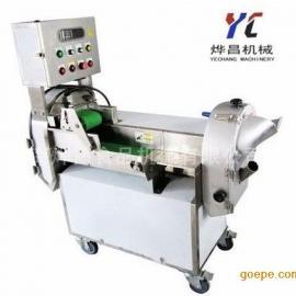 食堂专用多功能切菜机 上海全自动切菜机厂家 天津切菜机视频