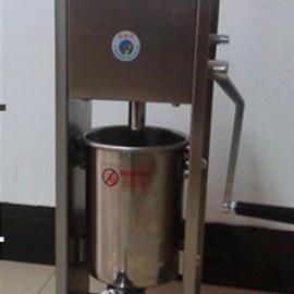 新型立式高效手动灌肠机 香肠机 腊肠机 家用不锈钢灌肠机