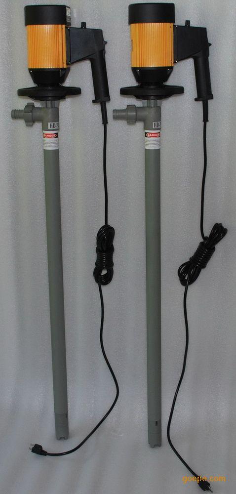旺泉HD-E2-V+HD-PPHT-1000无极调速型电动抽液泵、油桶泵、桶泵