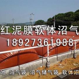 广东廉江市软体红泥膜沼气池,沼气袋