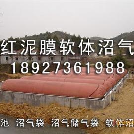 广东省开平市沼气储气袋、沼气工程(图)红泥沼气池