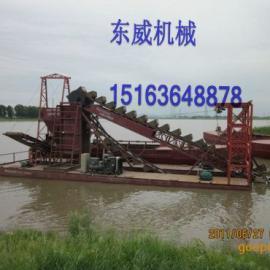 订做优质低价DW链斗式挖沙船15163648878