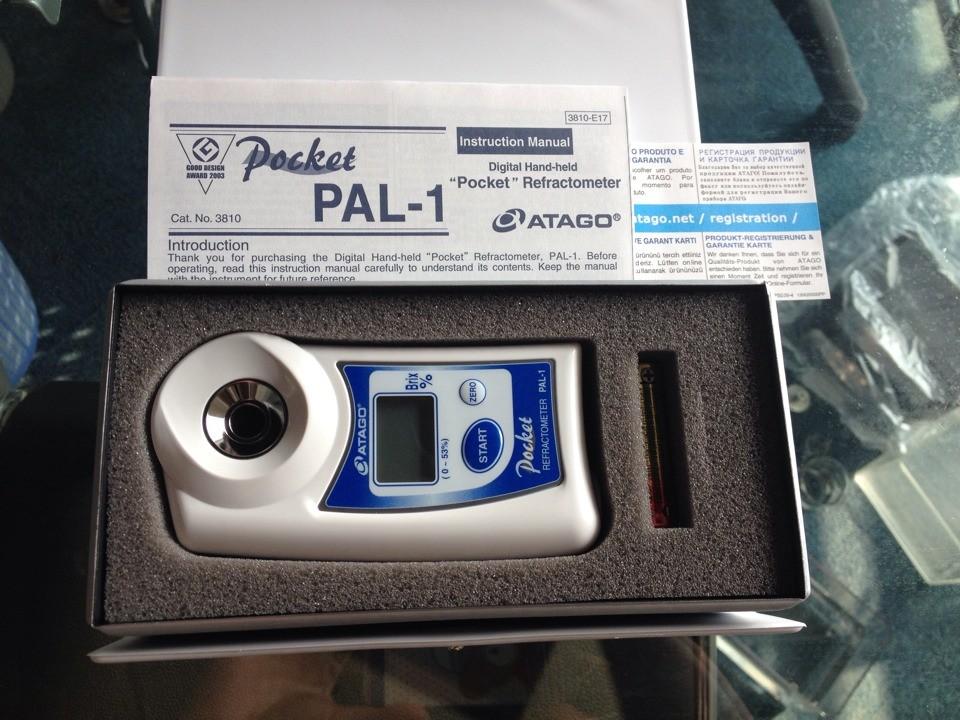 日本ATAGO爱拓原装进口糖度计、数显糖度仪PAL-1(NFC)