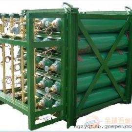 多瓶位氮气瓶组集装格