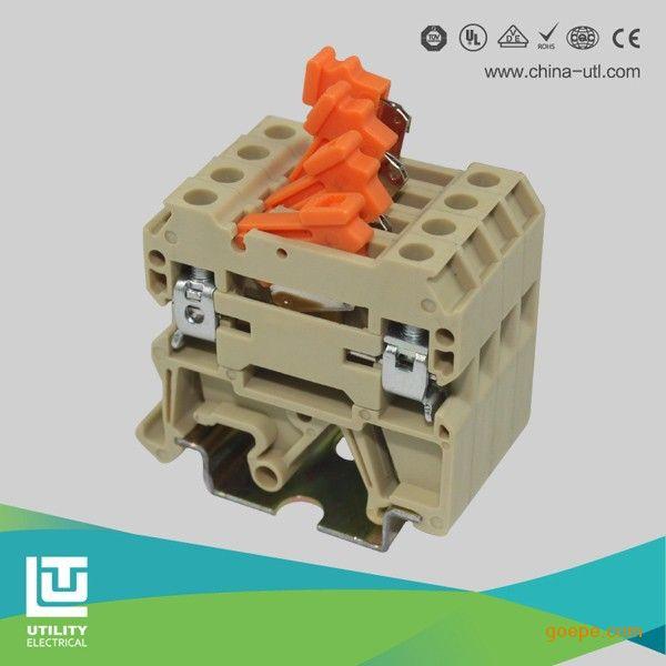 厂家直销接线端子jut2-4k 开关型接线端子