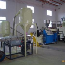张家港市科仁机械 PVC热切造粒机  双螺杆造粒机 废塑料造粒机