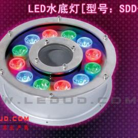 大功率LED水下灯,喷泉灯,七彩水下灯