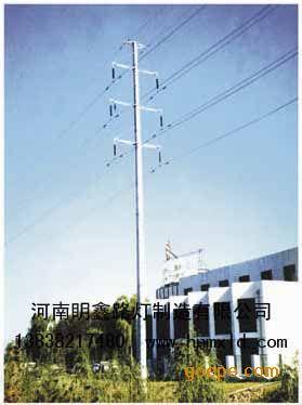 产品展示 监控信号杆 > 河南郑州***大的电力塔杆生产厂家