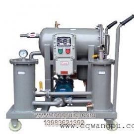移动式ZJD-F聚结分离轻质燃油滤油机(有防爆型滤油机)