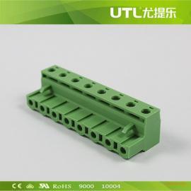 尤提乐供应MA2.5/H7.62 插拔式接线端子