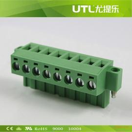 厂家直销MA2.5/HF5.0(5.08)插拔式接线端子