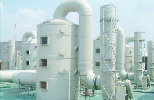 酸雾处理塔; 酸雾洗涤塔设备; 广州喷淋塔