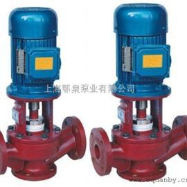 SL型立式玻璃钢管道泵,鄂泉牌玻璃钢管道泵