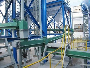 电解铝超浓相输送风动溜槽