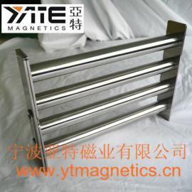 方形磁力架,料斗除铁器,磁格栅,磁力架,强磁棒,除铁棒