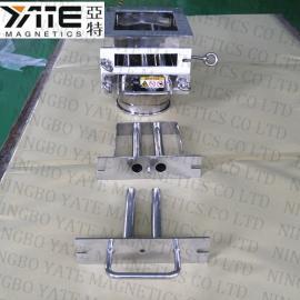 方形除铁器,管道式除铁器,粉末除铁器,干粉除铁棒,磁棒组,强磁棒