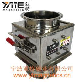 卫生级除铁器,磁性过滤棒,精细粉末除铁器,粉料除铁器,强磁棒