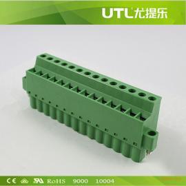 尤提乐 MA2.5CA/HF5.08 插拔式接线端子