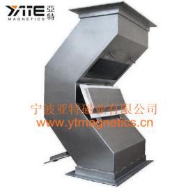 驼峰式管道除铁器,磁板式管道除铁器,磁平板,磁力板,强磁板
