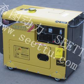 镇江5KW柴油发电机|静音单相柴油发电机