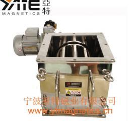 防堵料式除铁器,电动除铁器,旋转磁格栅,强磁棒,磁力架,磁棒