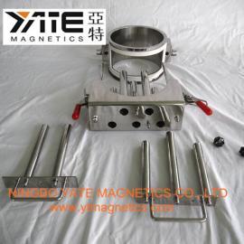 易清洗除铁器,干粉除铁器,套管磁棒,磁棒过滤器,磁棒除铁器