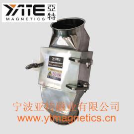 磁板式管道除铁器,粮食管道除铁器,强磁管道除铁器,磁力板