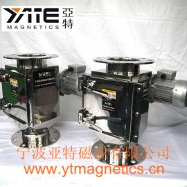 管道除铁器,防堵料除铁器,电机除铁器,电动除铁器,旋转式磁格栅
