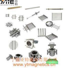 强磁除铁器,永磁除铁器,磁棒除铁器,干粉除铁器,除铁磁棒