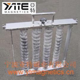 高磁棒,磁力架,磁格栅,磁除铁棒组,磁棒组,磁棒架,磁滤网