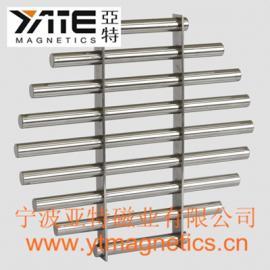 振动筛磁力架,筛网除铁器,磁棒组,磁棒过滤器