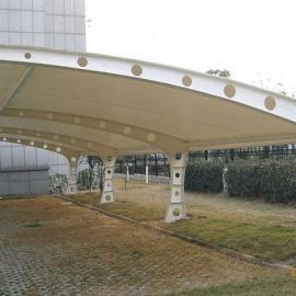 膜结构汽车停车棚、张拉膜、景观棚设计安装