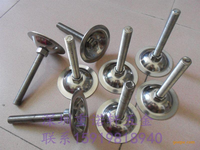 镀锌外表唐钢材质垫铁批发机器304不锈钢杯脚