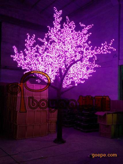 照树灯安装效果图