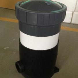 现货直销5*20寸芯式精密保安过滤器,PVC全塑过滤器制造商